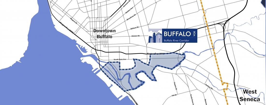 Buffalo Urban Development Corporation - Where is buffalo located